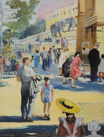 1948 - Un dimanche au parc zoologique