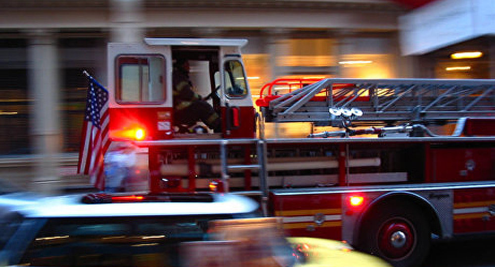 Incendie à l'aéroport Kennedy de New York