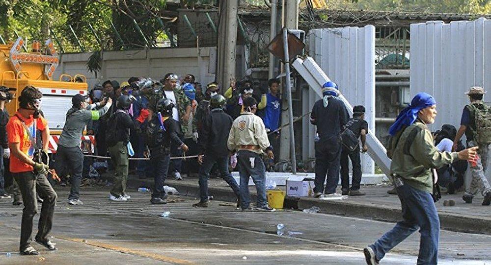 Explosion dans le centre de Bangkok