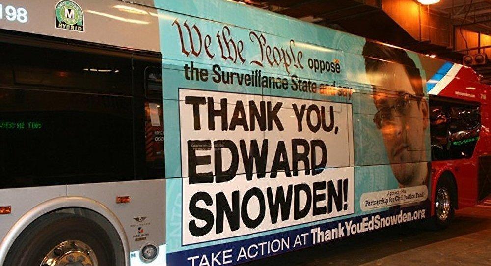 Snowden entrera dans le conseil du Fonds de la liberté de la presse