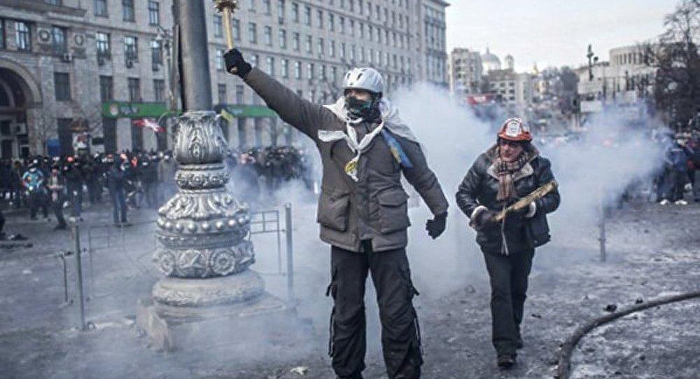 Kiev : le parti Svoboda a déclaré la mobilisation de toute l'Ukraine