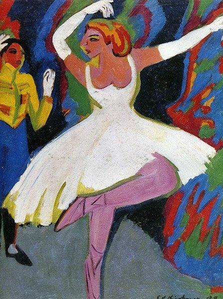 Ernst Ludwig Kirchner Danseuse russe