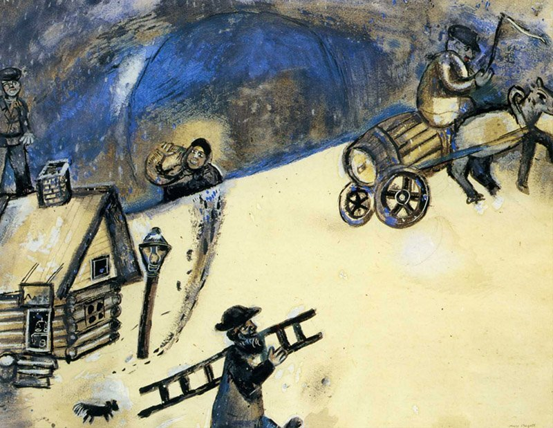 Marc Chagall, Hiver