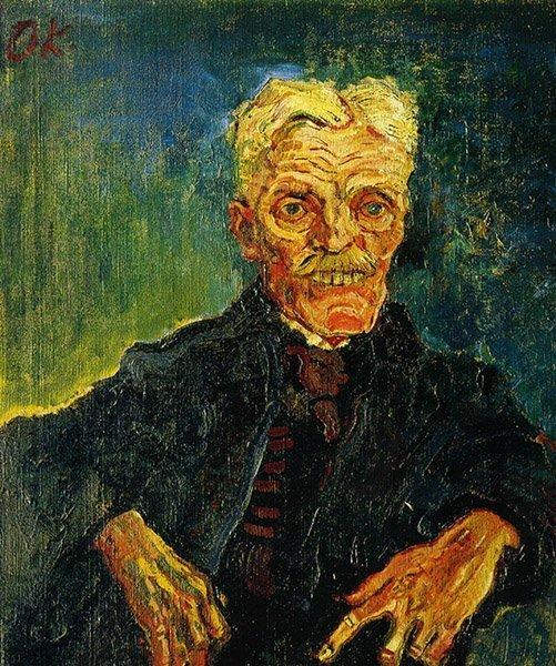Oskar Kokoschka Vieux Monsieur