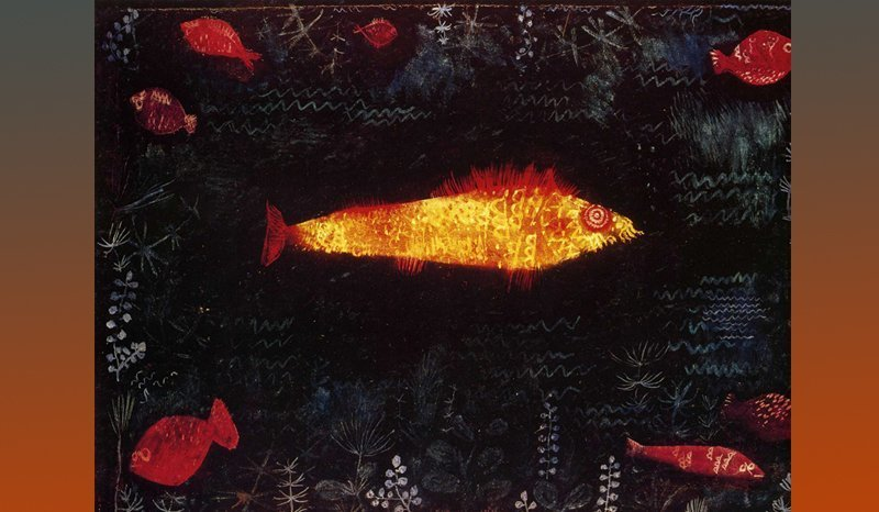 Paul Klee Le poisson d'or