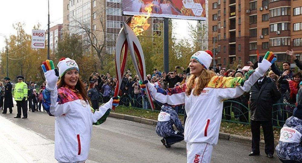 Sotchi : dernière ligne droite pour la flamme olympique