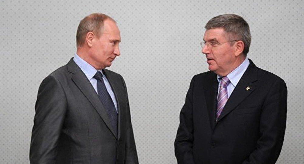 Vladimir Poutine a ouvert la 126e session du Comité International olympique