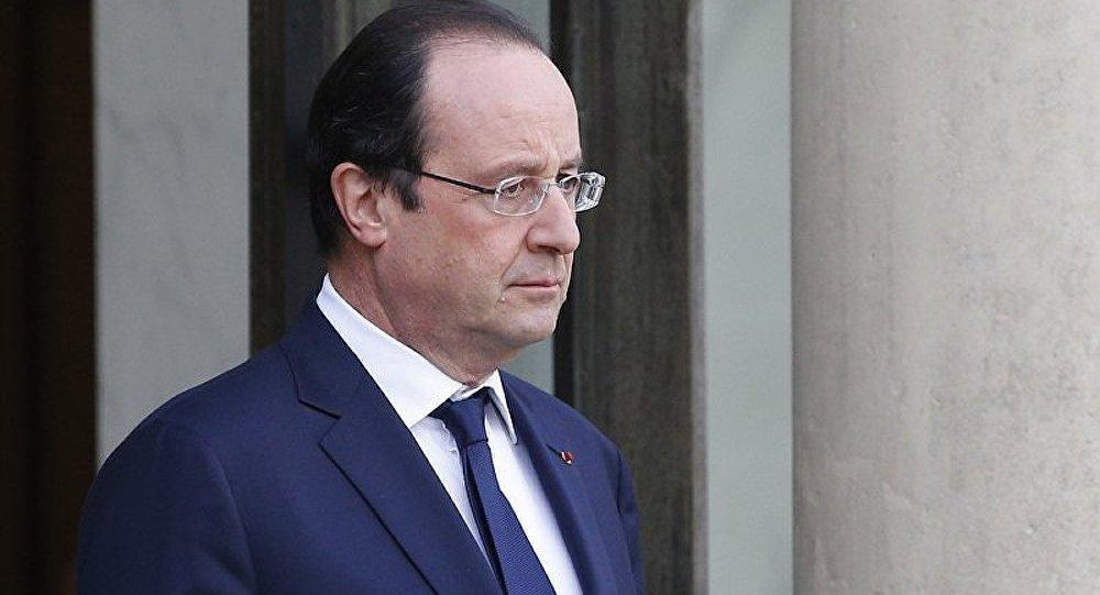 La cote de popularité de François Hollande repart à la baisse (Ifop)