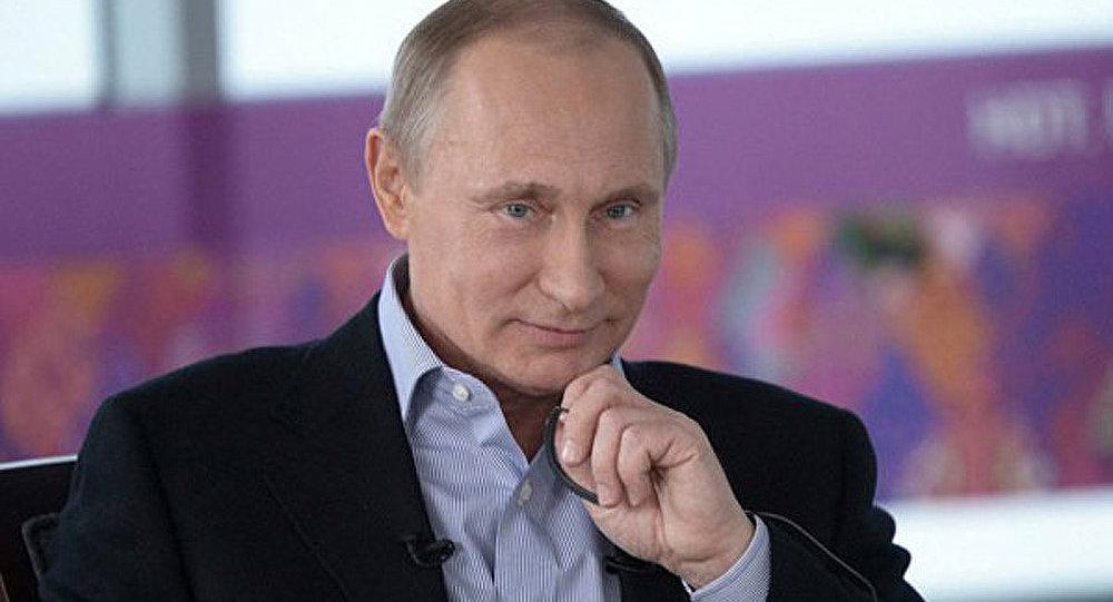 Vladimir Poutine, homme politique numéro un dans le monde