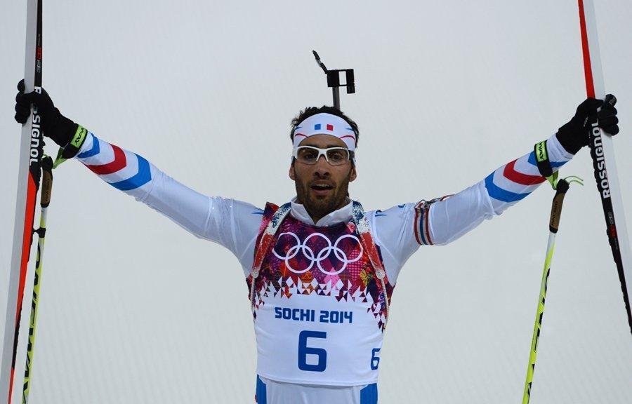 release date: fashion styles new design JO 2014 - biathlon : le Français Martin Fourcade champion ...