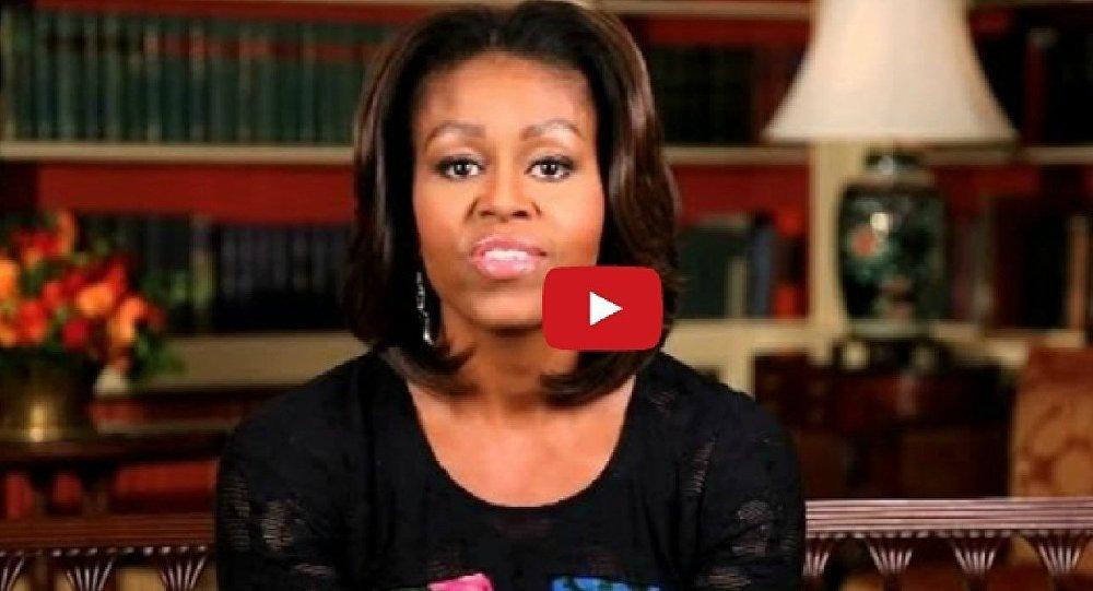 Michelle Obama lance un « bonjour » en français, pour un programme éducatif (Vidéo)