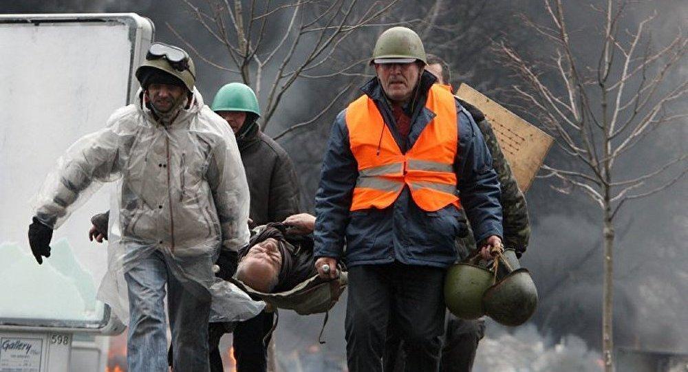 Ukraine : 77 morts dans les troubles à Kiev (données actualisées)