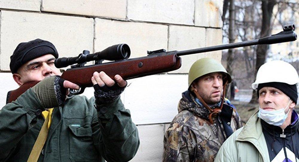 Kiev : les ultras ouvrent le feu sur les forces de sécurité