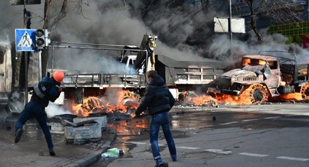Les étudiants ukrainiens ont occupé le bâtiment du ministère de l'Éducation