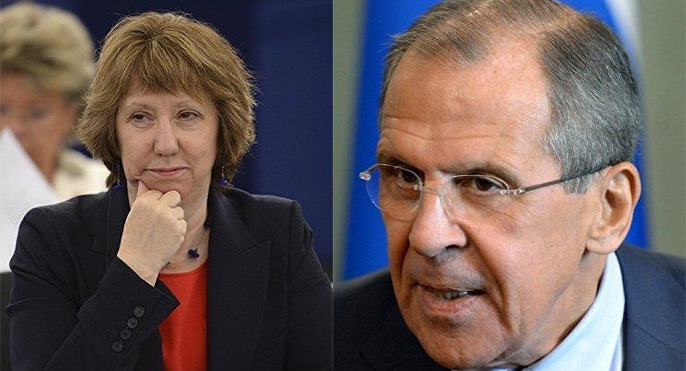 La Russie et l'UE poursuivent les contacts pour normaliser la situation en Ukraine