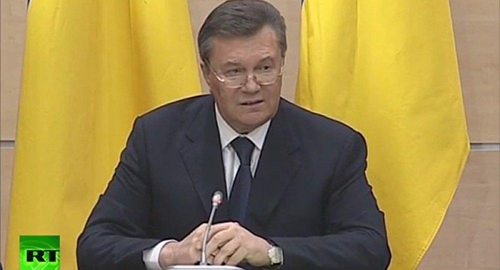 « Je n'ai pas été renversé » (Ianoukovitch)