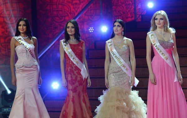 La gagnante de concours Miss Russie 2014 désignée