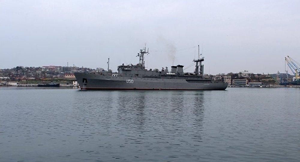 Les navires de guerre d'Ukraine ont quitté la Crimée