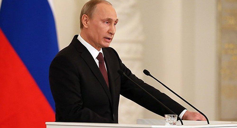 Poutine : « La Crimée n'appartiendra jamais aux successeurs de Bandera »