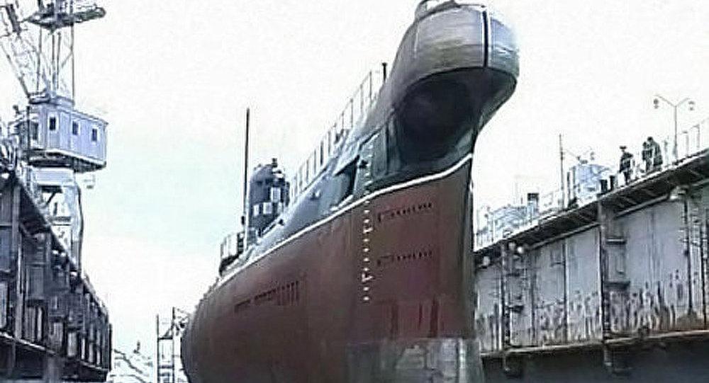 L'unique sous-marin ukrainien se rallie à la marine russe