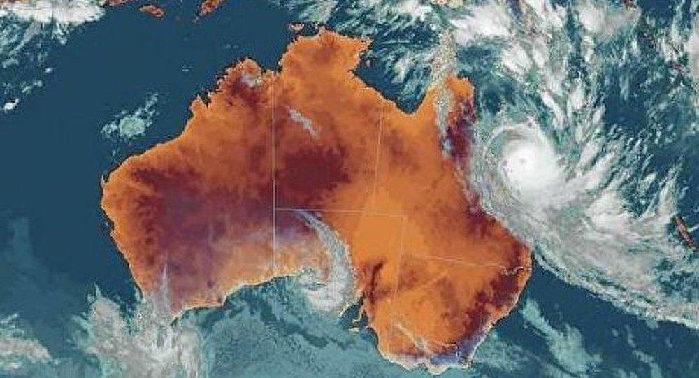 Le cyclone Ita a atteint la côte est australienne mais diminué d'intensité