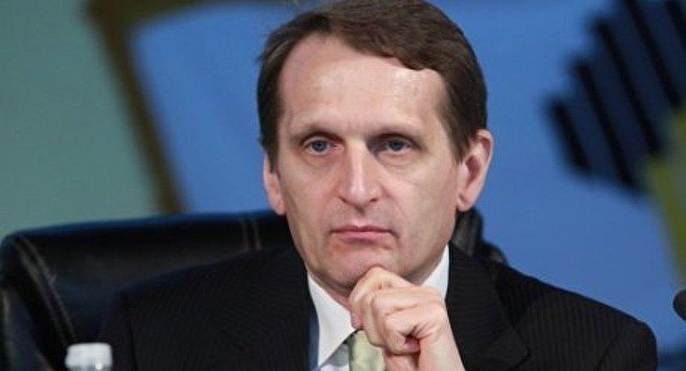 « La Russie et la France devraient rester partenaires, malgré les sanctions » (Narychkine)