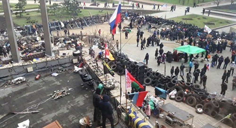 Les habitants de Donetsk forment des détachements d'aide à Slaviansk
