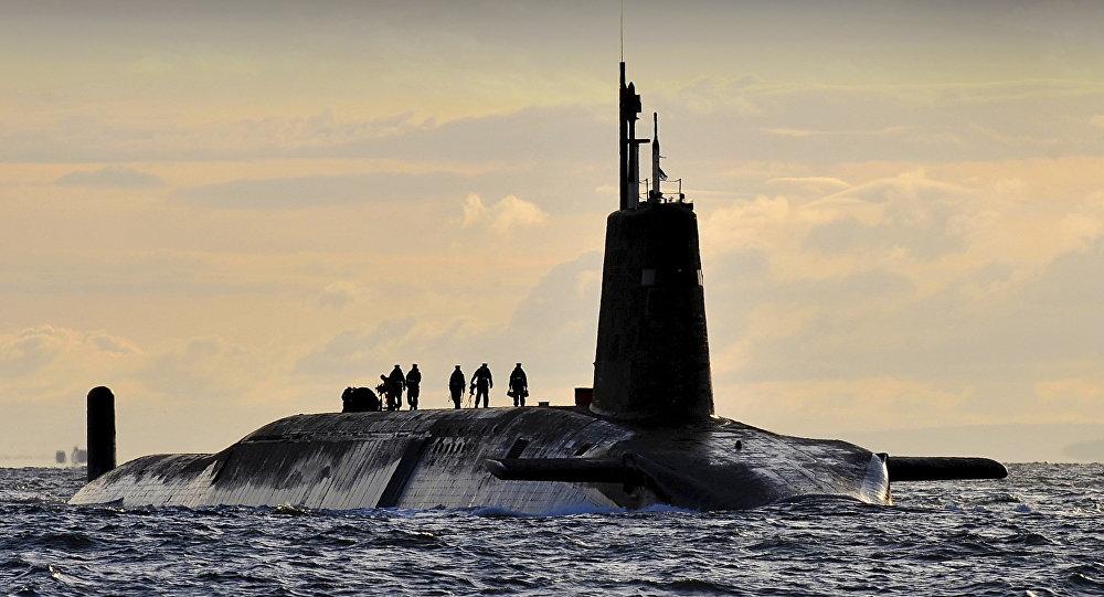 Sous-marin nucléaire
