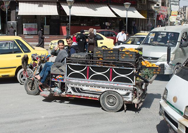 Le premier jour de trêve en Syrie, Damas