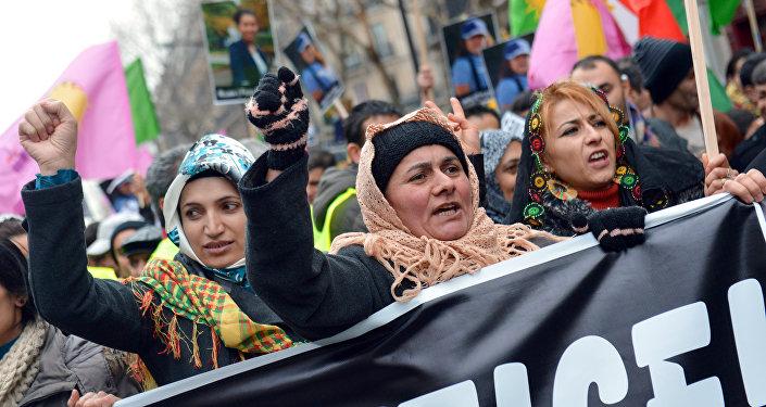 Des femmes kurdes