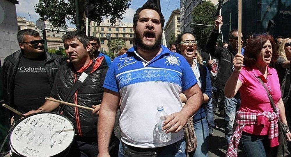 Manifestations du 1er mai et grève générale en Grèce
