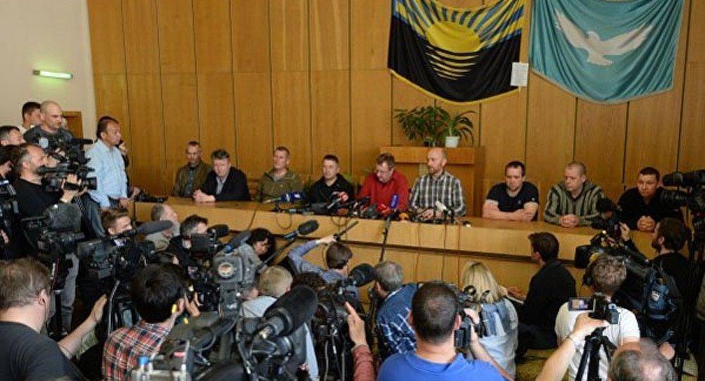 Négociations à Slaviansk sur la libération des représentants de l'OSCE