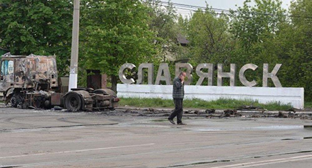 Ukraine: les combats ont repris à Slaviansk (agence)