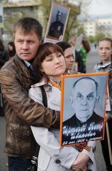 Jour de la Victoire : six pays organisent l'action « Régiment immortel »