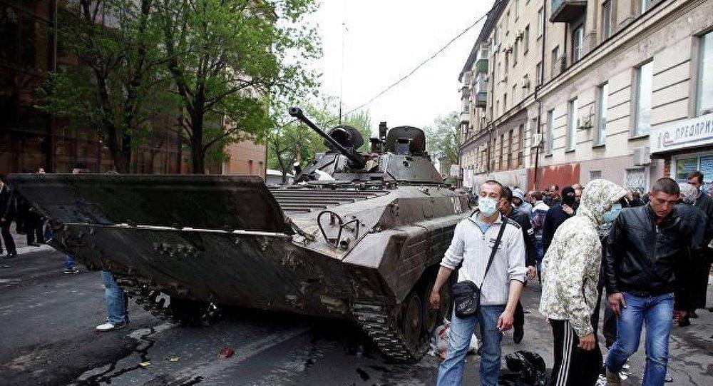 Ukraine/Marioupol : vingt morts parmi les insurgés (Intérieur)