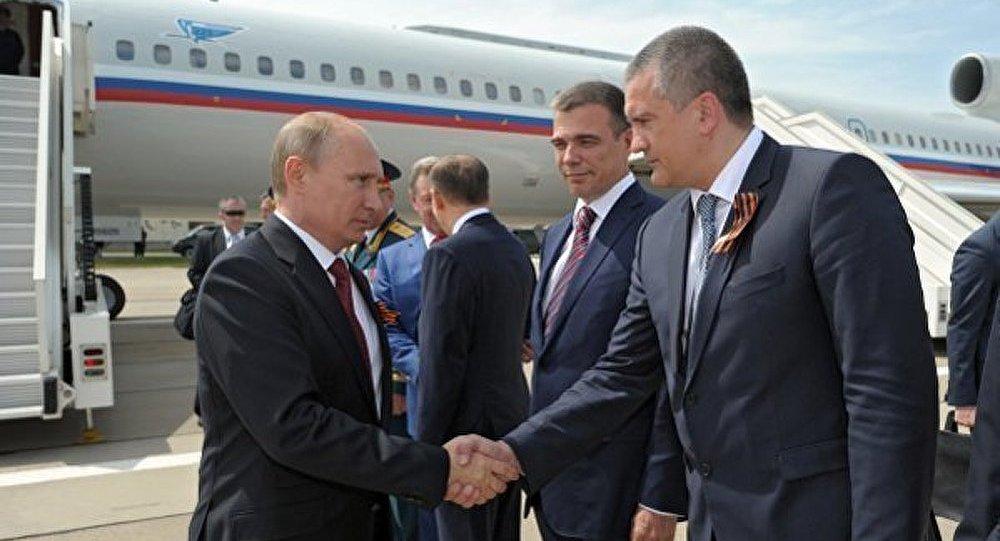 Les États-Unis et l'OTAN condamnent la visite de Poutine en Crimée