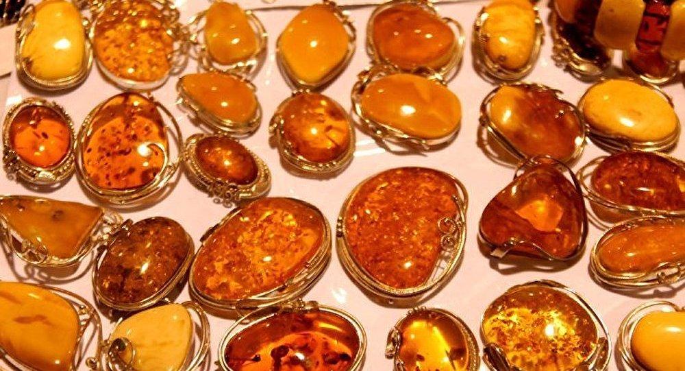 Russie: une cachette d'ambre pour 87 M EUR découverte à Kaliningrad