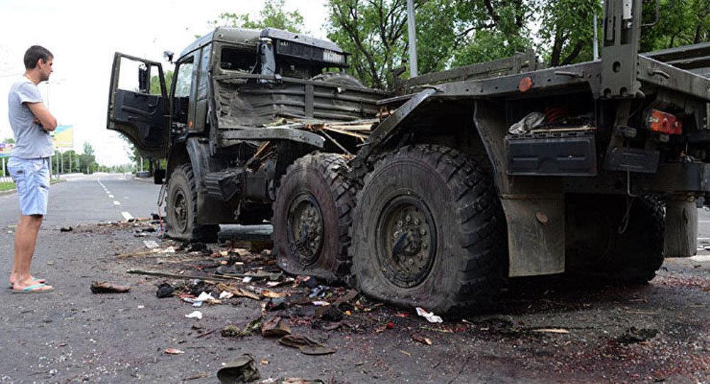 Manifestations contre la guerre civile en Ukraine, dimanche à Odessa