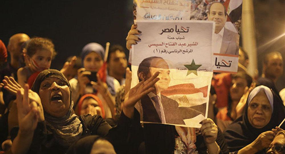 Egypte/présidentielle : Poutine félicite Sissi
