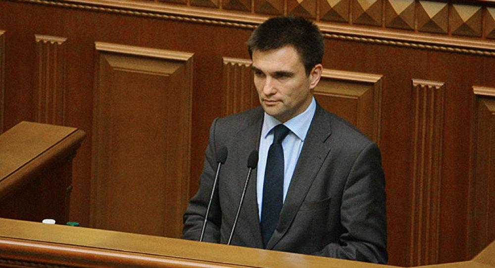 Le ministre russe des Affaires étrangères a parlé avec son nouvel homologue ukrainien