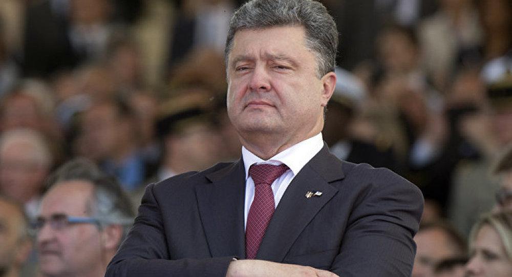 Porochenko a présenté son plan de paix