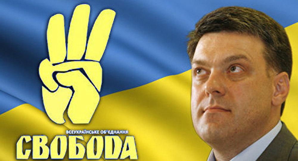 Ukraine : Svoboda attaque en justice Gregor Gysi