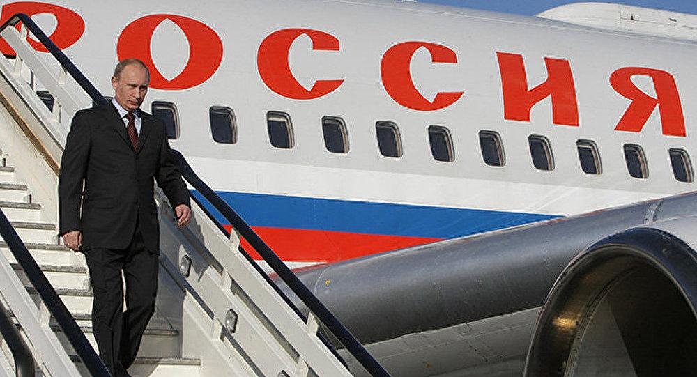 Poutine en visite en Autriche