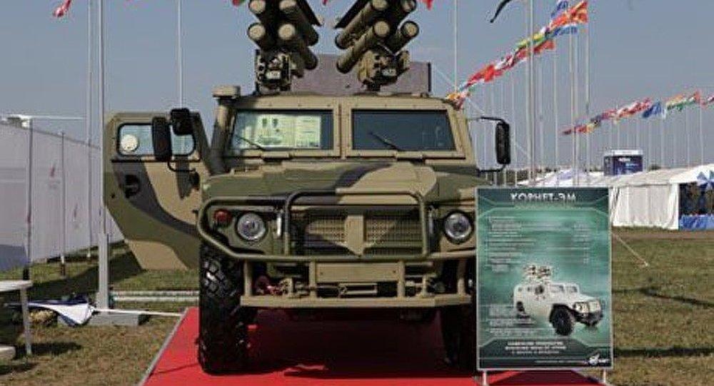 Un robot de combat équipera le système de missile russe « Kornet »