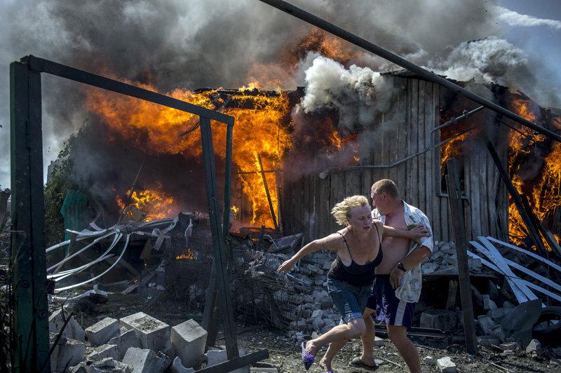 Lougansk et Kramatorsk