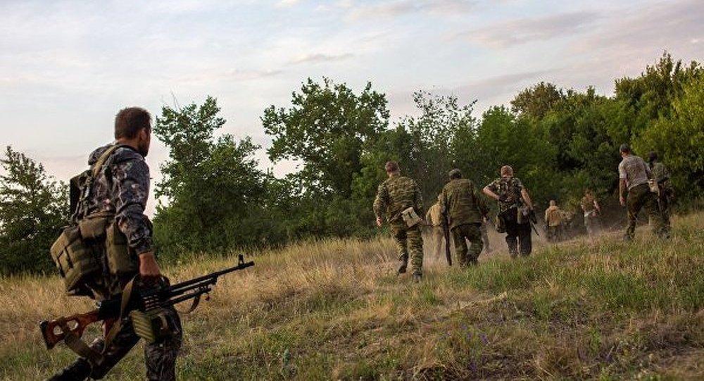 Donetsk : une usine fabriquant des explosifs est en feu