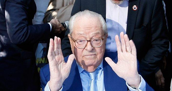 Jean-Marie le Pen. Archive photo