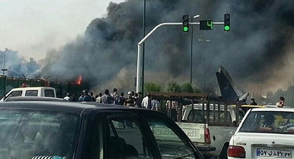 Au moins 50 personnes tuées dans un accident d'avion en Iran