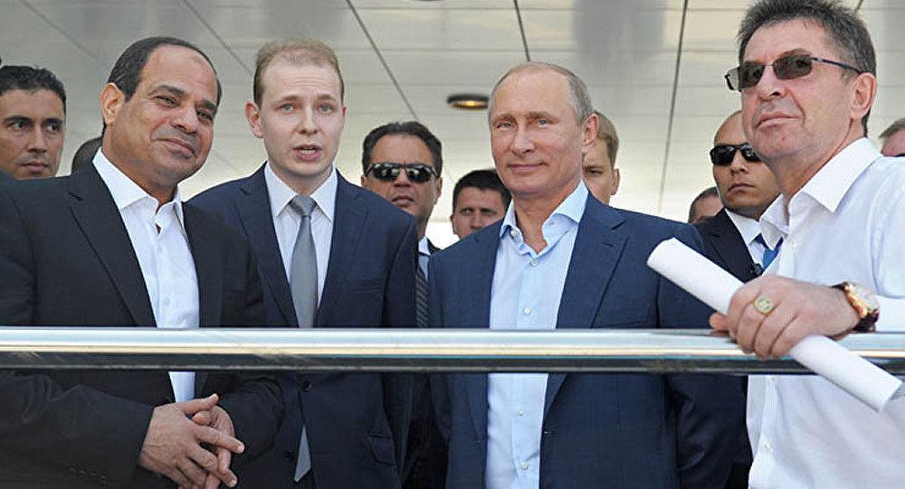 La Russie aidera l'Egypte à construire le nouveau canal de Suez