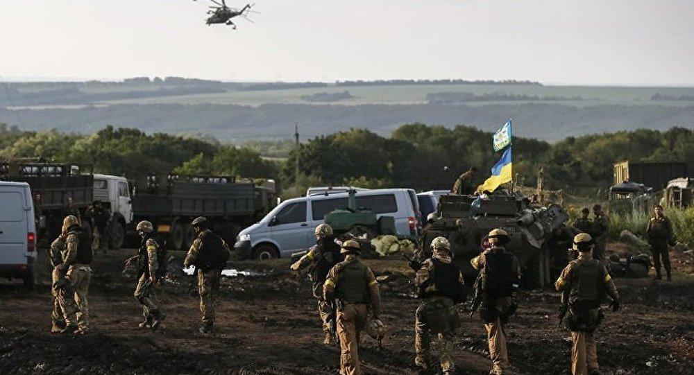 Les forces de l'ordre ukrainiennes font état d'encerclement de Lougansk